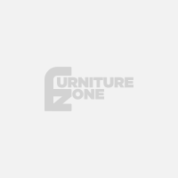 Felix 4 Seater Recliner Home Theatre Fabric Lounge with Storage Consoles - Ebony